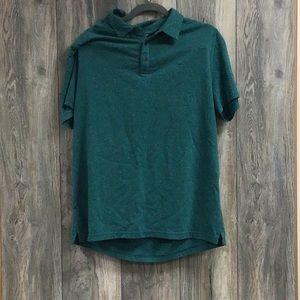 New Michael Kors Green Polo Shirt